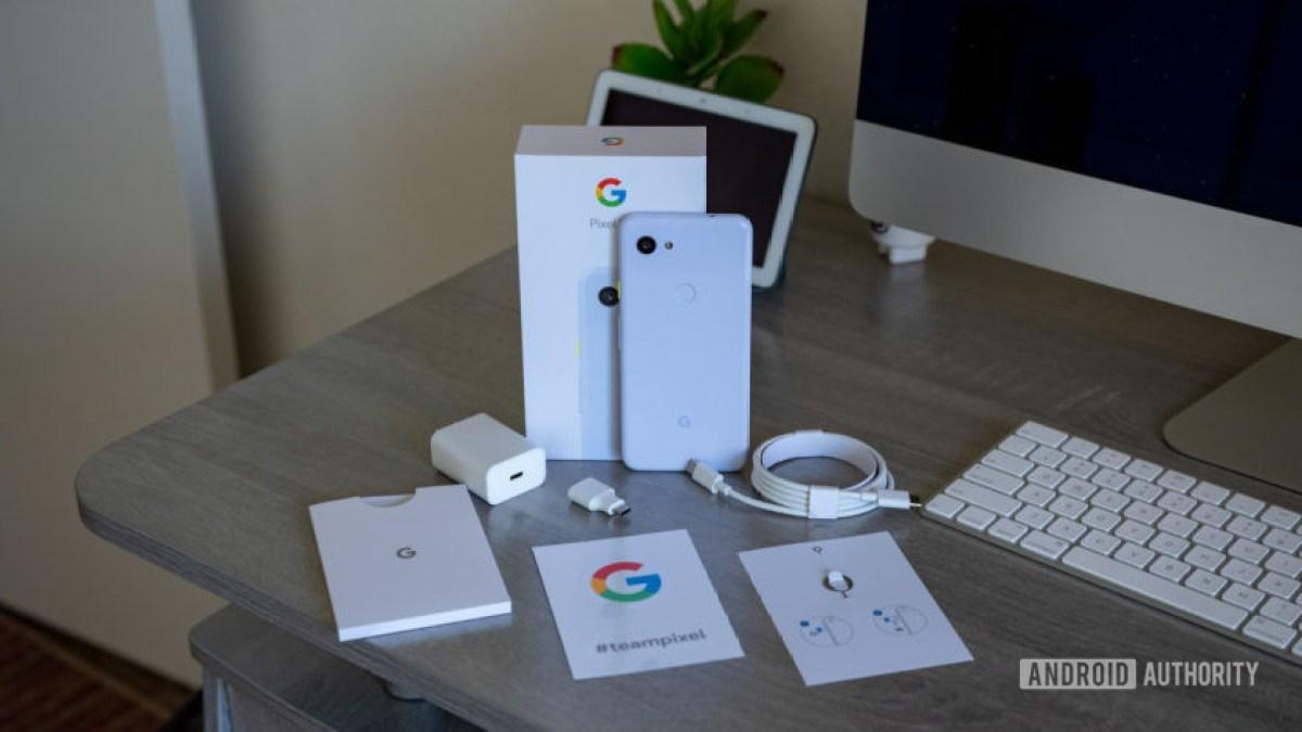 Google Pixel 3a Что в коробке