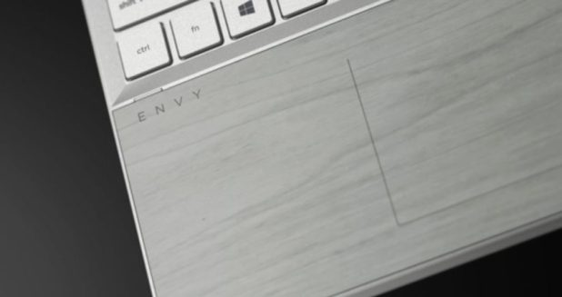 HP pale birch wood PC