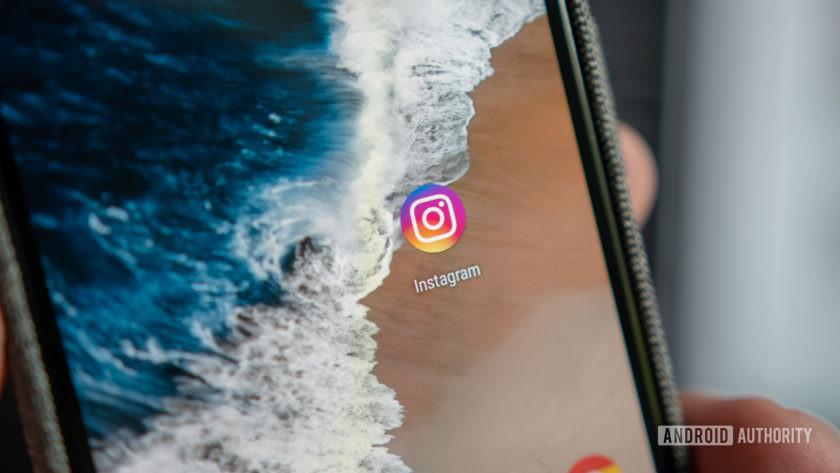 Instagram logo on a Pixel smartphone - Voxi Endless Social Media