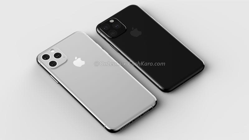 Leaked renders of what is supposedly the iPhone 11.