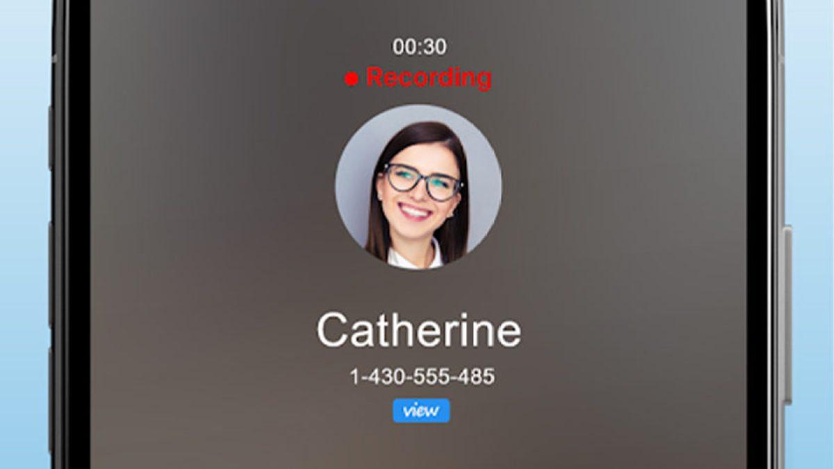 Скриншот Automatic Call Recorder, одного из лучших приложений для записи звонков для Android.