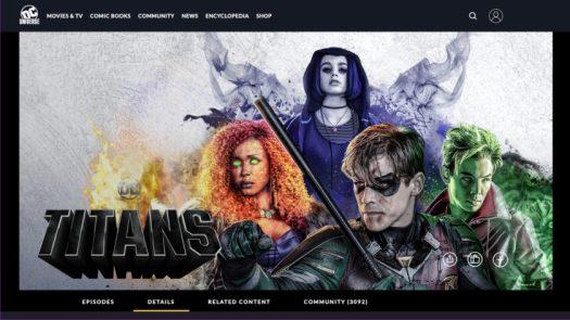DC Universe Original Content