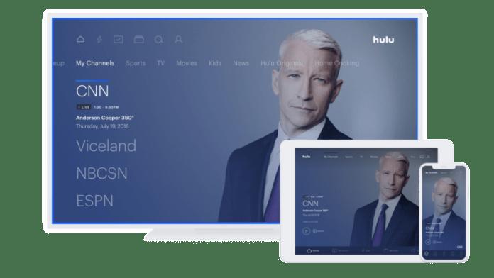 Hulu Live TV My channels
