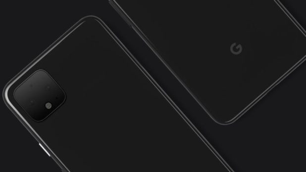 An official image of the Google Pixel 4.