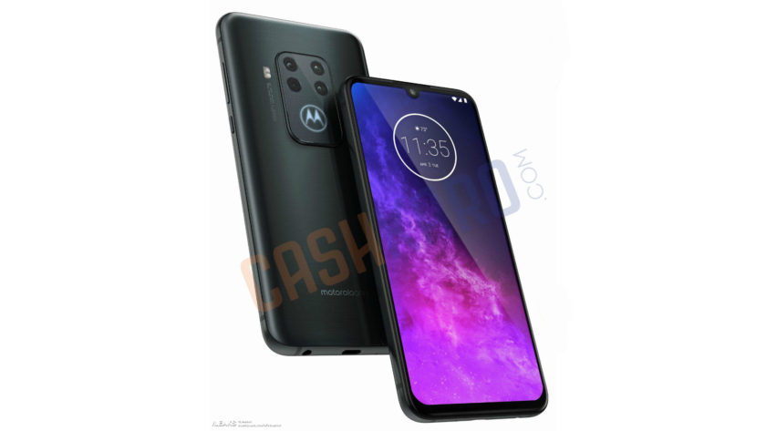 Alleged render of the Motorola One Pro 1