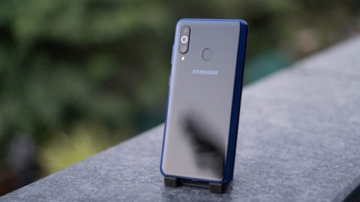 Samsung Galaxy M40 back panel gradient