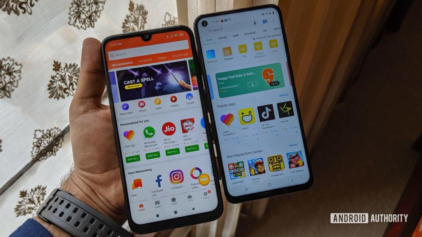 Samsung Galaxy M40 vs Redmi Note 7 Pro -1