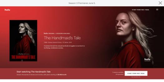 The Handmaid's Tale best Hulu shows