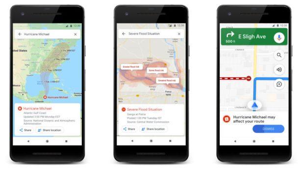 Google SOS alerts go visual.