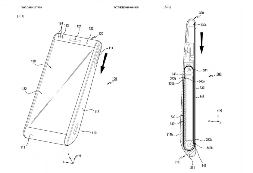 Samsung has an idea for a roll-up phone display, Galaxy