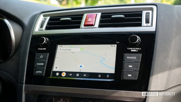 Android Auto Redesign Google Maps