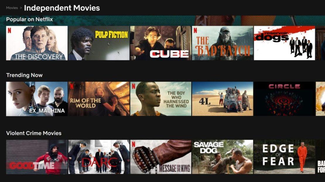 Best indie movies Netflix featured