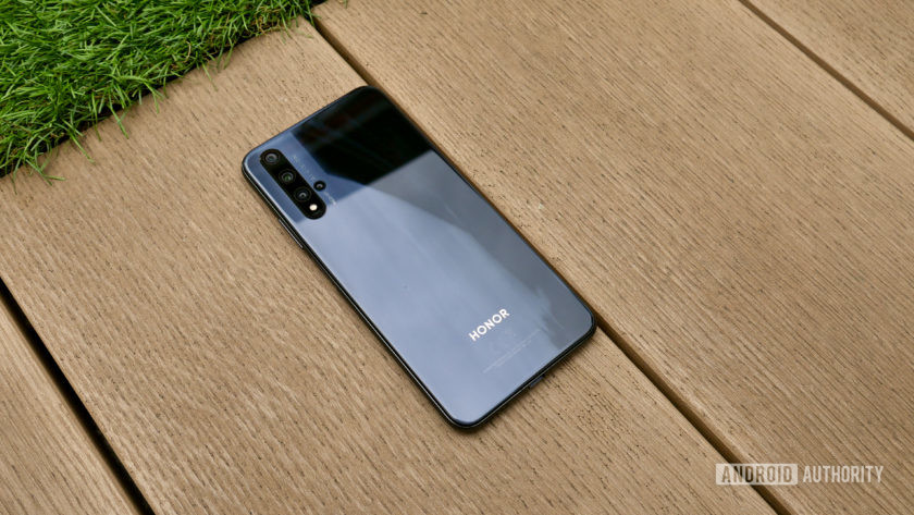 """Honor 20 behind """"width ="""" 840 """"height ="""" 473 """"srcset ="""" https://cdn57.androidauthority.net/wp-content/uploads/2019/07/Honor-20-review-rear-2-840x472.jpg 840w, https://cdn57.androidauthority.net/wp-content/uploads/2019/07/Honor-20-review-rear-2-300x170.jpg 300w, https://cdn57.androidauthority.net/wp-content /uploads/2019/07/Honor-20-review-rear-2-768x432.jpg 768w, https://cdn57.androidauthority.net/wp-content/uploads/2019/07/Honor-20-review-rear- 2-16x9.jpg 16w, https://cdn57.androidauthority.net/wp-content/uploads/2019/07/Honor-20-review-rear-2-32x18.jpg 32w, https: //cdn57.androidauthority. net / wp-content / uploads / 2019/07 / Honor-20-review-rear-2-28x16.jpg 28w, https://cdn57.androidauthority.net/wp-content/uploads/2019/07/Honor-20 -review-rear-2-56x32.jpg 56w, https://cdn57.androidauthority.net/wp-content/uploads/2019/07/Honor-20-review-rear-2-64x36.jpg 64w, https: / /cdn57.androidauthority.net/wp-content/uploads/2019/07/Honor-20-review-rear-2-712x400.jpg 712w, https://cdn57.androidauthority.net/wp-con tent / uploads / 2019 / 07 / Honor-20-review-rear-2-1000x563.jpg 1000w, https://cdn57.androidauthority.net/wp-content/uploads/2019/07/Honor-20-review-rear -2-1200x675. jpg 1200w, https://cdn57.androidauthority.net/wp-content/uploads/2019/07/Honor-20-review-rear-2-792x446.jpg 792w, https://cdn57.androidauthority .net / wp- content / uploads / 2019/07 / Honor-20-review-rear-2-1280x720.jpg 1280w, https://cdn57.androidauthority.net/wp-content/uploads/2019/07/Honor- 20-review-rear -2-1340x754.jpg 1340w, https://cdn57.androidauthority.net/wp-content/uploads/2019/07/Honor-20-revi ew-rear-2-770x433.jpg 770w, https://cdn57.androidauthority.net/wp-content/uploads/2019/07/Honor-20-review-rear-2-355x200.jpg 355w """"sizes ="""" ( max-width: 840px) 100vw, 840px"""