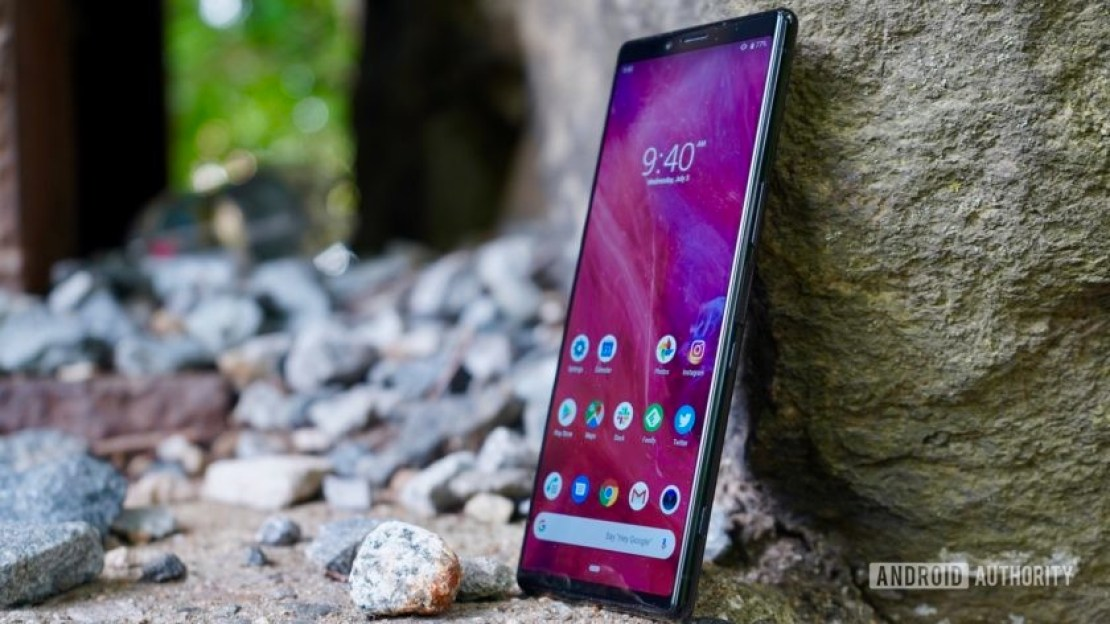 Sony Xperia 1 review front profile