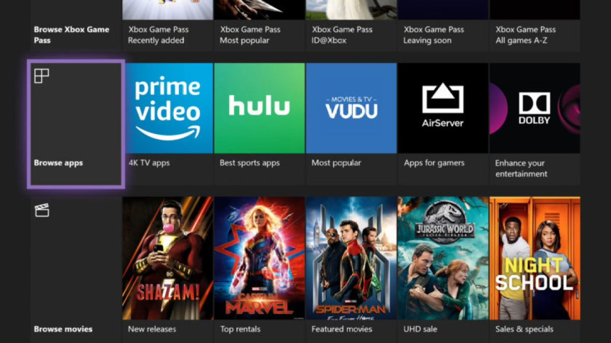 Xbox One Amazon Prime Видео