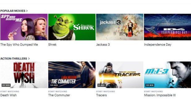 Action movies on Hulu