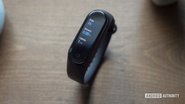 xiaomi mi band 4 review status steps daily activity
