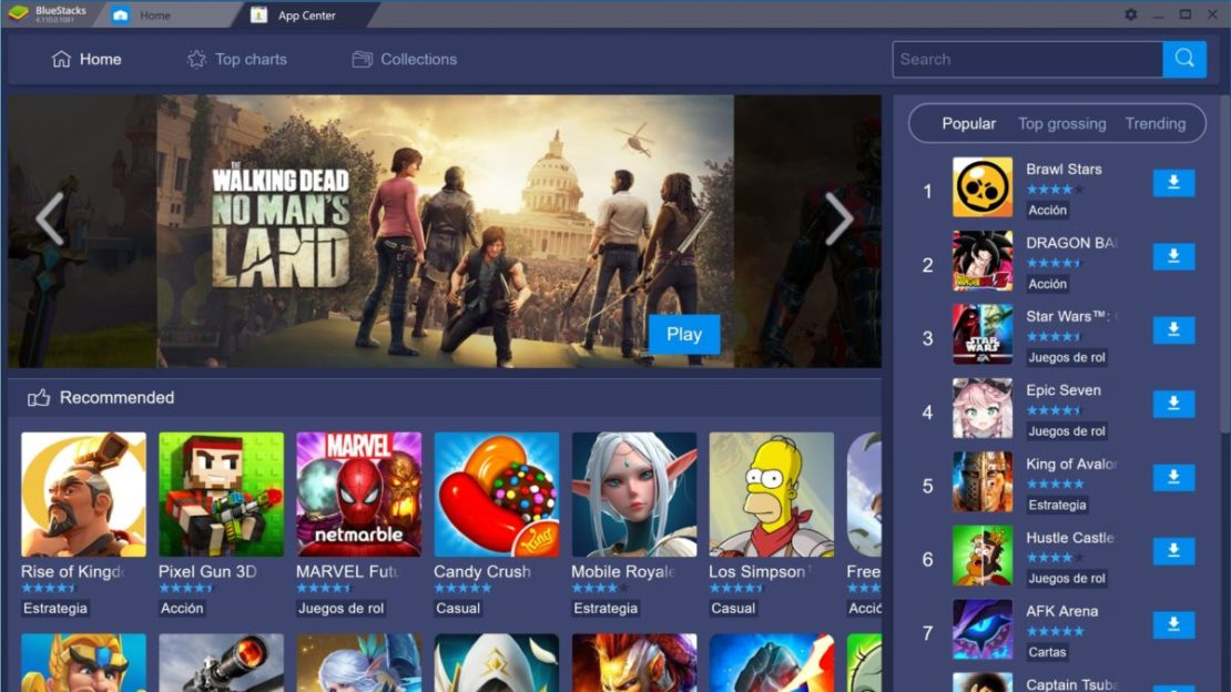 Bluestacks android emulator games featured