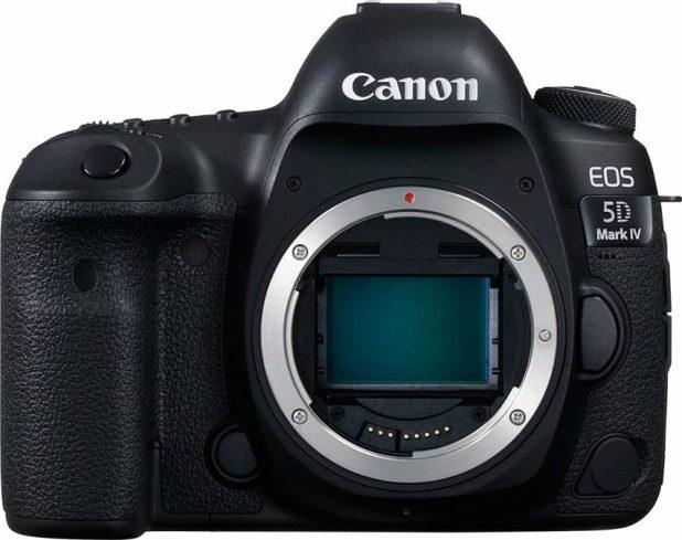 Canon EOS 5D Mark IV with no lens