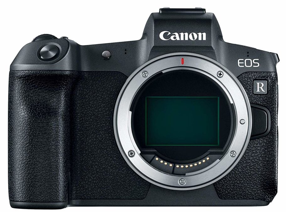 Canon EOS R sensor on the front