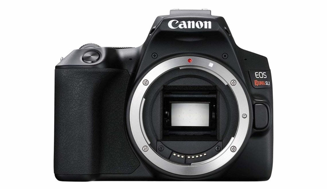 Canon Rebel SL3 front body only