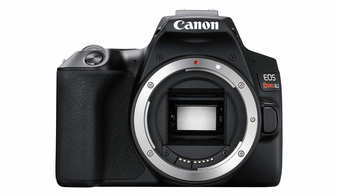 Only Canon Rebel SL3 front body