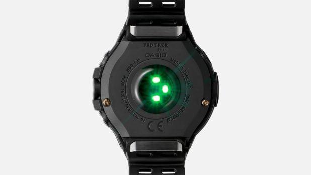 Casio WSDF21HR Wear OS Smartwatch Heart Rate Sensor