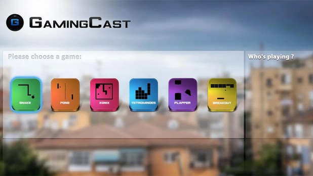 GamingCast is one of the best chromecast games for android