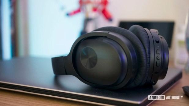 Headphones and Laptop Work