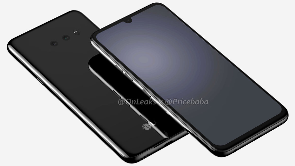The LG G8X is displayed according to Onleaks and Pricebaba.