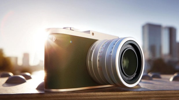 Leica Q Typ 116 angle with city in background, one of the best point-and-shoot cameras