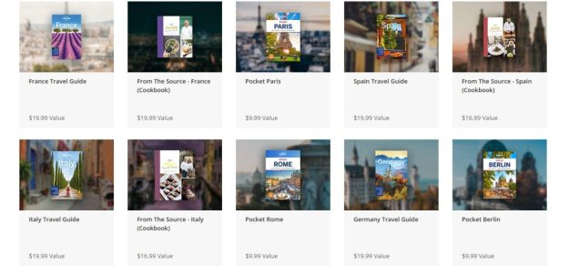 Lonely Planet Travel Guide Bundle Features