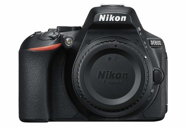 Nikon D5600 front body only