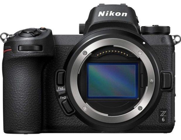 Nikon Z6 front without lens