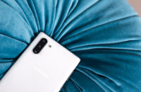 Samsung Galaxy Note 10 Plus Aura White camera array back