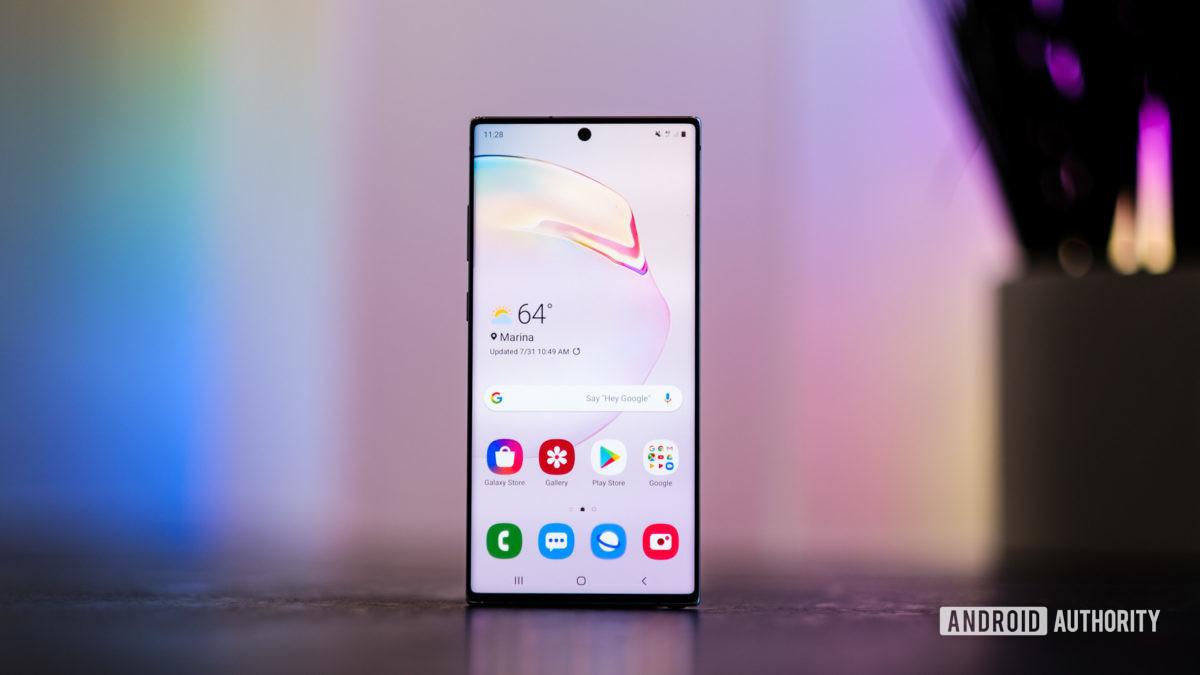 Экранная головка Samsung Galaxy Note 10 Plus на 1