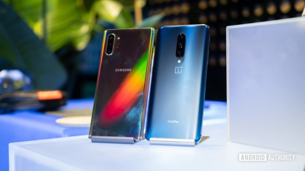 phones with 12GB RAM - Samsung Galaxy Note 10 Plus and OnePlus 7 Pro