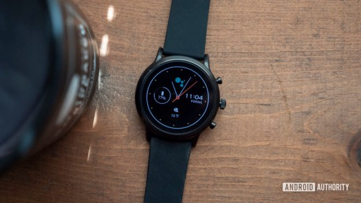 fossil gen 5 smartwatch review display watch face 1