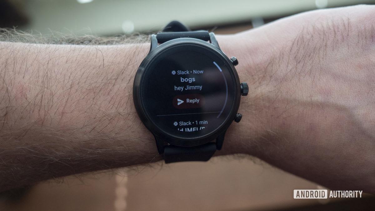 fossil gen 5 smartwatch обзор уведомления слабина