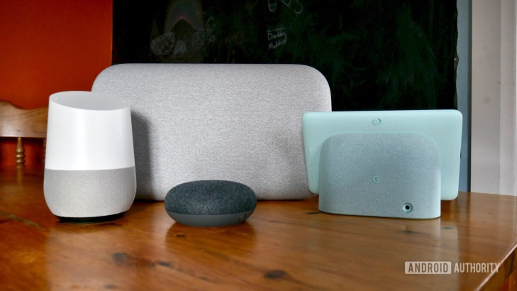 google home nest devices