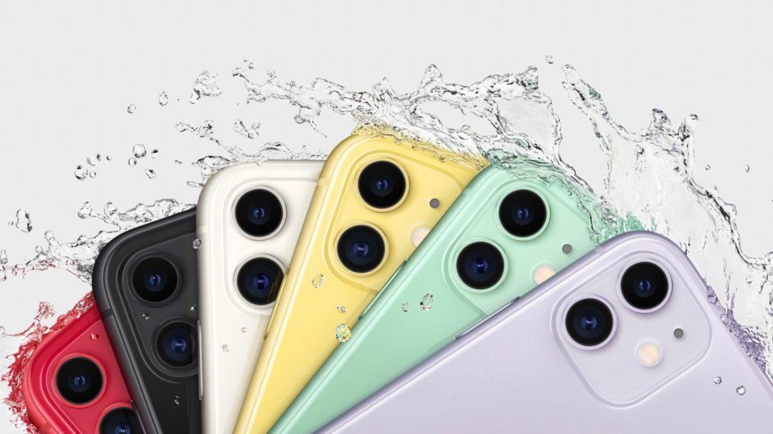 Apple iPhone 11 2019 colorways