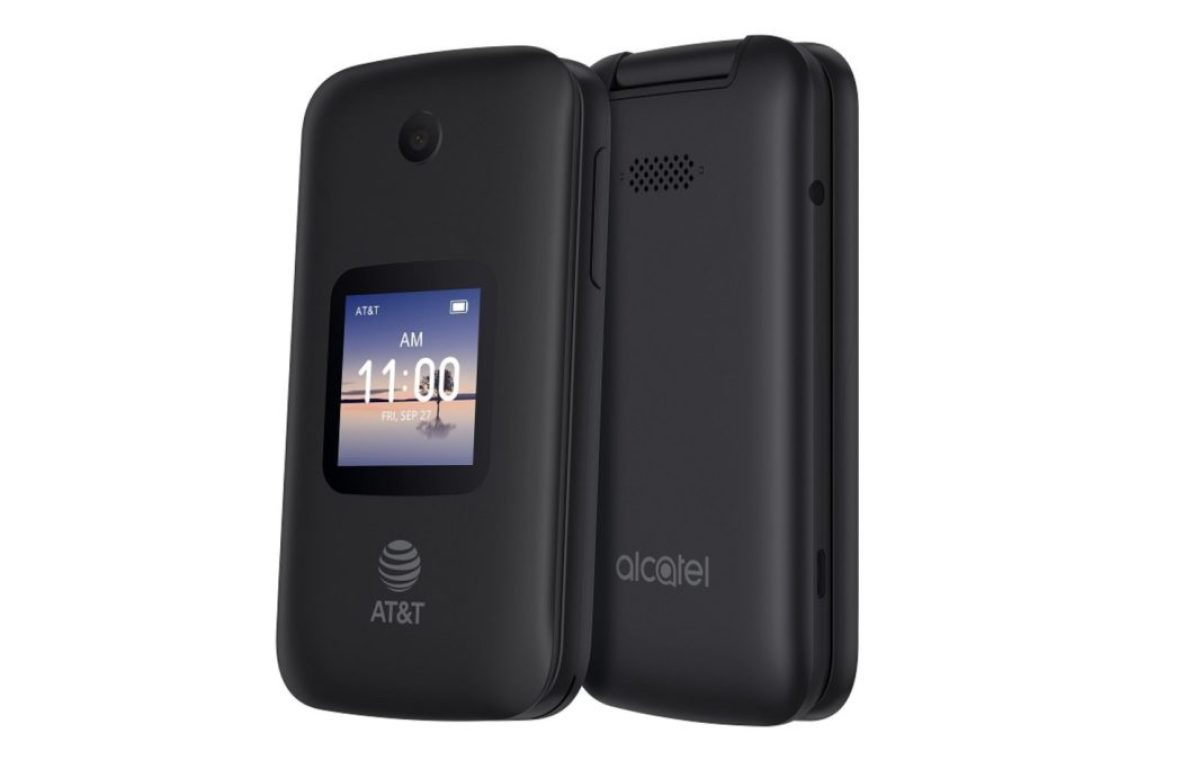 Alcatel Google Assistant compatible KaiOS fliphone