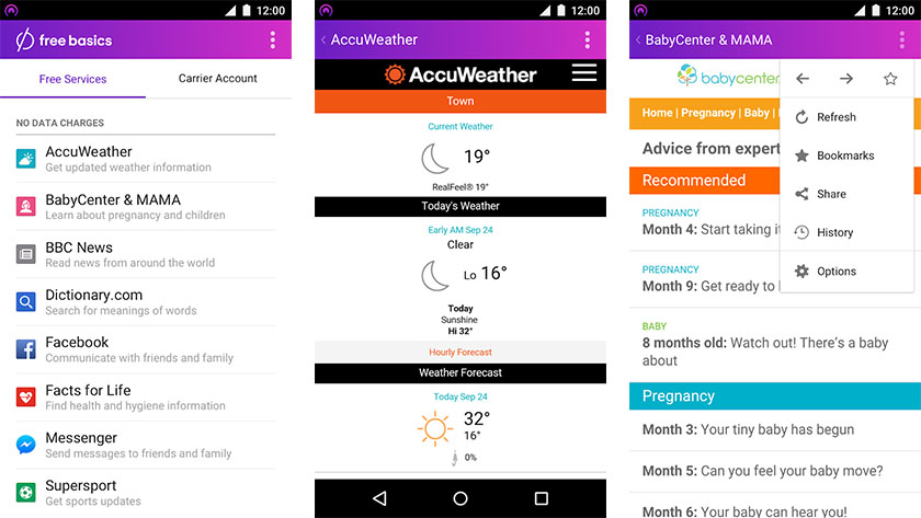 One of September's best new Android apps, Free Basics
