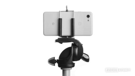 Google Pixel 3 XL on a tripod