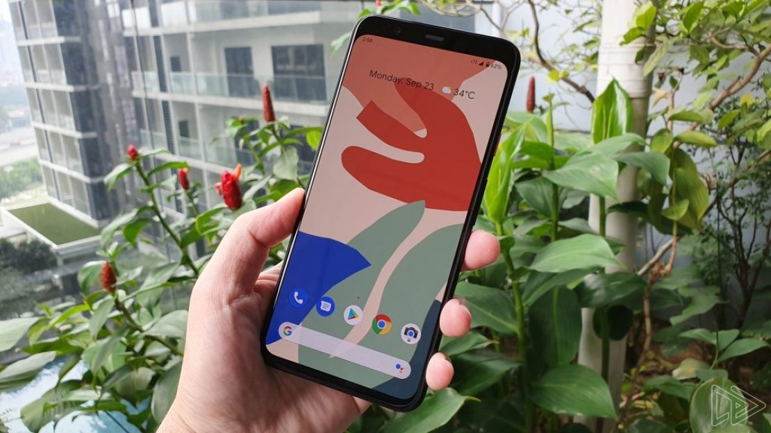 Google Pixel 4 Clearly White Front
