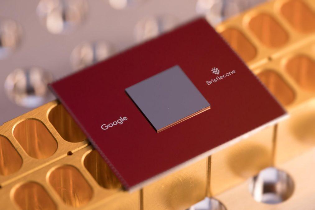 Google Quantum Processor Bristlecone