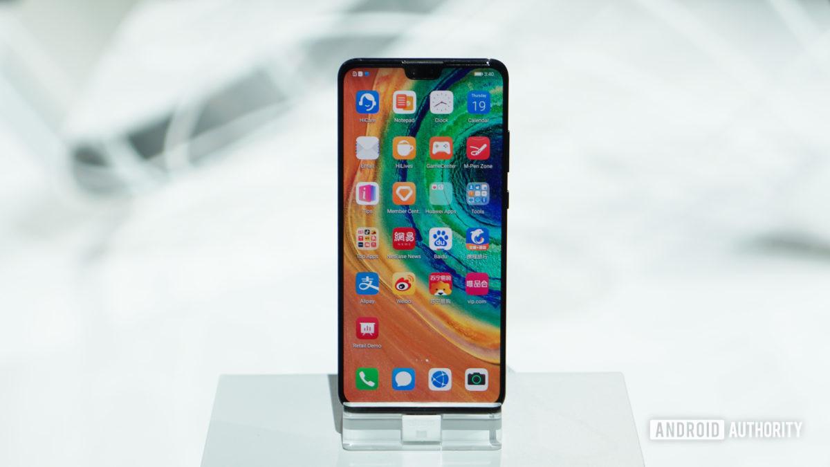 Huawei Mate 30 home screen