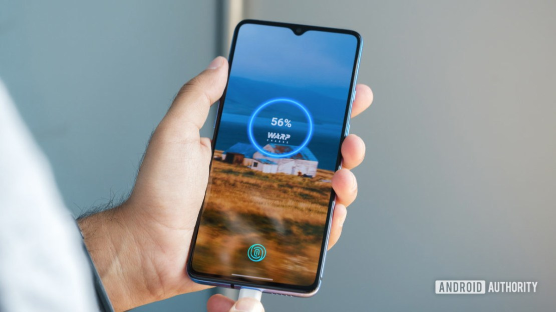 OnePlus 7T warp charge 30T