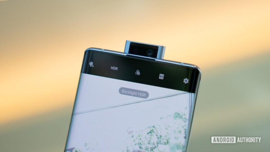 Vivo NEX 3 5G ff cameras macro