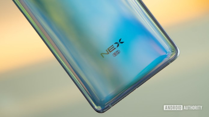 Macro logo Vivo NEX 3 5G